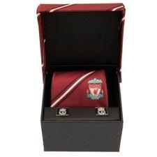 Liverpool Slips & Cufflinks - Röd/Silver