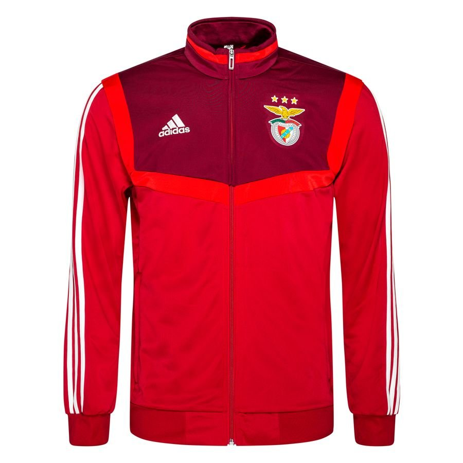 2019 2020 Benfica Adidas Presentation Jacket (Red)