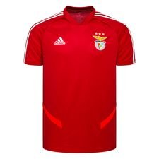 Benfica Tränings T-Shirt - Röd/Vit