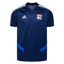 Lyon Tränings T-Shirt - Navy/Vit