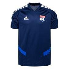 Lyon Tränings T-Shirt - Navy/Vit Barn