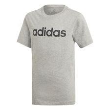 adidas T-Shirt Essential Linear Logo - Grå/Svart Barn