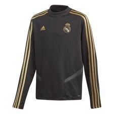 Real Madrid Träningströja - Svart/Guld Barn