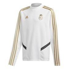 Real Madrid Träningströja - Vit/Guld Barn