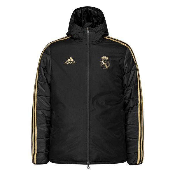 Real Madrid Winterjacke SchwarzGold