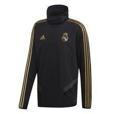 Real Madrid Träningströja Warm - Svart/Guld