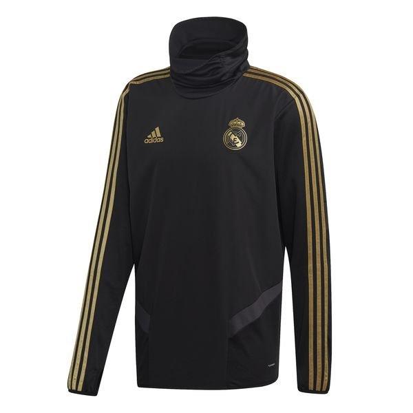 Real Madrid Träningströja Warm SvartGuld