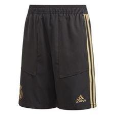 Real Madrid Shorts Woven - Svart/Guld Barn