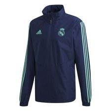 Real Madrid Jacka Europa All Weather - Navy/Grön