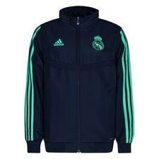 Real Madrid Träningsjacka Presentation - Navy/Grön Barn