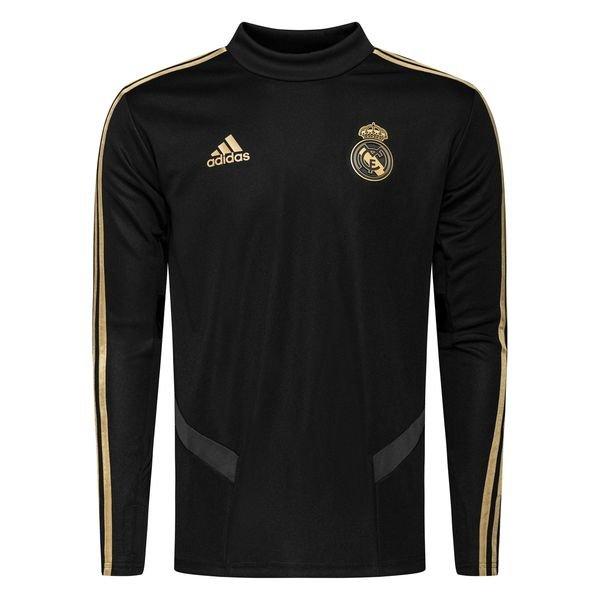 Real Madrid Träningströja SvartGuld