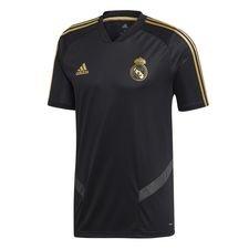 Real Madrid Tränings T-Shirt - Svart/Guld Barn