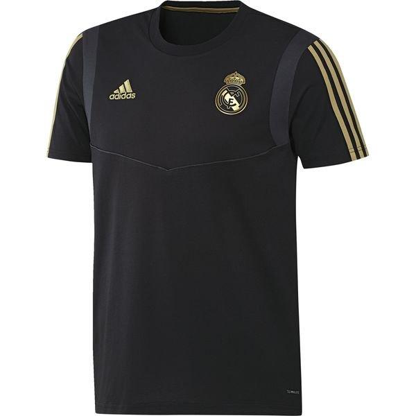 Real Madrid T Shirt SvartGuld