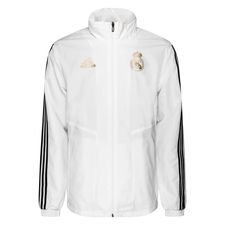Real Madrid Jacka All Weather - Vit/Svart