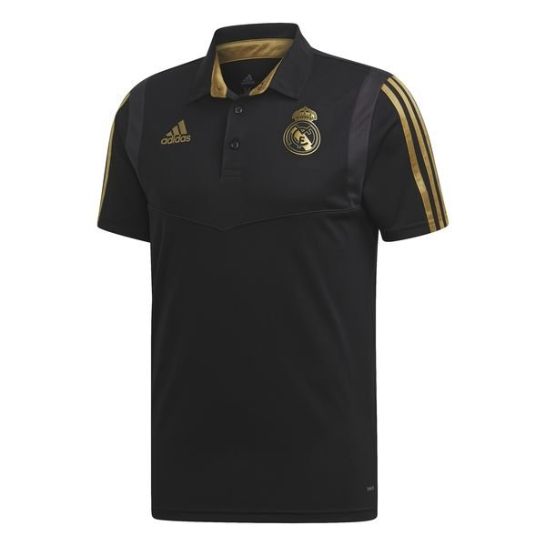 8ad4361a24 Real Madrid Polo - Black/Gold | www.unisportstore.com