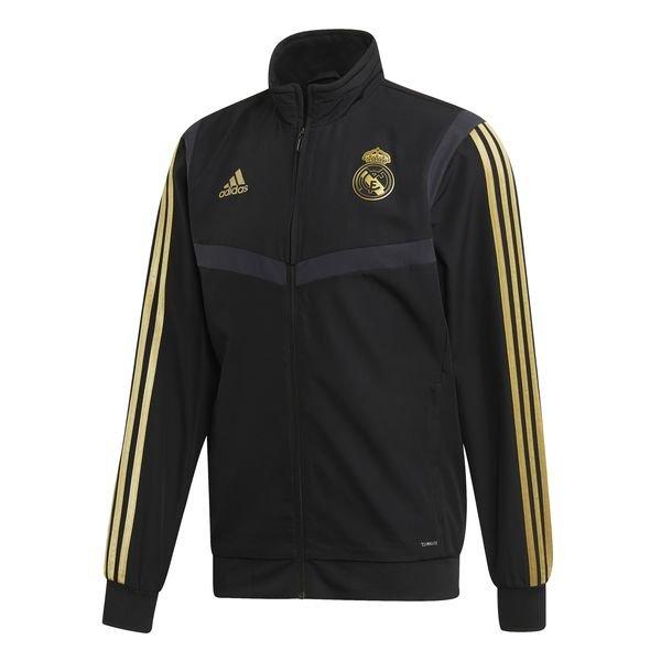 Real Madrid Träningsjacka Presentation SvartGuld