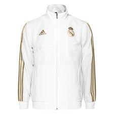 Real Madrid Träningsjacka Presentation - Vit/Guld