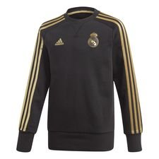 Real Madrid Sweatshirt - Svart/Guld Barn