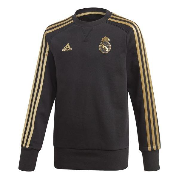 Real Madrid Sweatshirt SvartGuld Barn