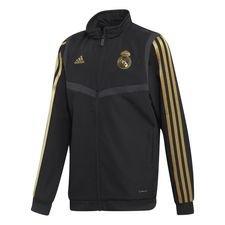Real Madrid Träningsjacka Presentation - Svart/Guld Barn