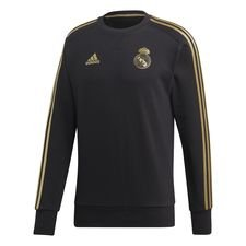 Real Madrid Sweatshirt – Zwart/Goud