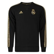 Real Madrid Sweatshirt - Svart/Guld