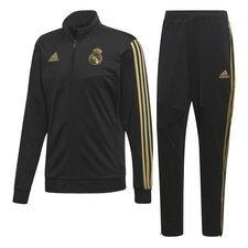 Real Madrid Träningsoverall PES - Svart/Guld