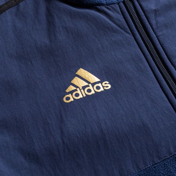 adidas Real Madrid Seasonal Special Fleece jakke Blå
