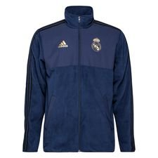 Real Madrid Fleece Jacka Seasonal Special - Navy/Svart
