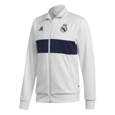Real Madrid Track Top 3S - Vit/Navy