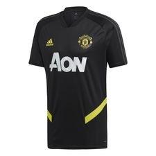 Manchester United Tränings T-Shirt - Svart/Grå/Gul