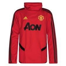 Manchester United Träningströja Warm - Röd/Grå Barn