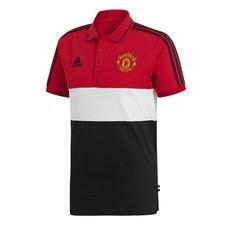 Manchester United Piké - Röd/Vit/Svart