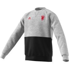 Manchester United Sweatshirt - Grå/Svart Barn