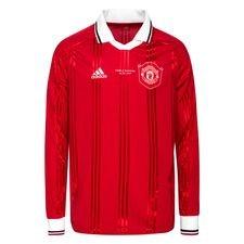 Manchester United Fotbollströja Icon - Röd/Vit