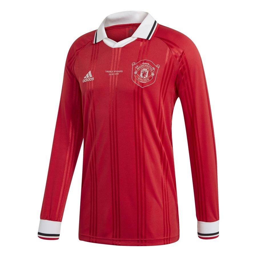 Manchester United Spillertrøje Icon – Rød/Hvid