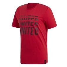 Manchester United T-Shirt DNA Graphic - Rot/Schwarz