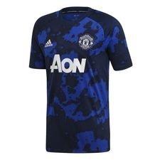 Manchester United Tränings T-Shirt Pre Match Hemma Parley - Navy/Navy Barn