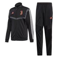 Juventus Träningsoverall PES - Svart/Vit Barn