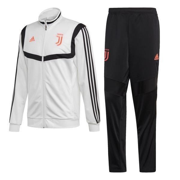 top design multiple colors reasonable price Juventus Trainingsanzug PES - Weiß/Schwarz Kinder