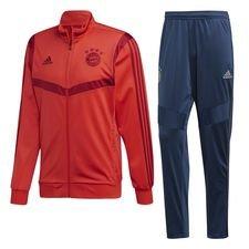 Bayern München Träningsoverall PES - Röd/Bordeaux