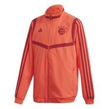 FC Bayern Presentation Jacket Röd