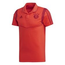 Bayern München Polo - Rot/Active Maroon