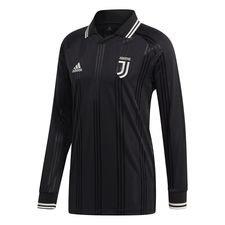 Juventus Fotbollströja Icon - Svart/Vit