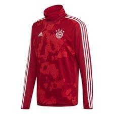 Bayern München Träningströja Warm Pre Match - Röd/Röd/Vit
