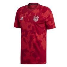 Bayern München Tränings T-Shirt Pre Match Hemma Parley - Röd/Röd