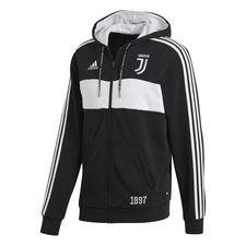 Juventus Luvtröja FZ - Svart/Vit