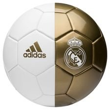 Real Madrid Fotboll Mini - Vit/Guld