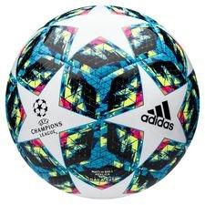 adidas Fotboll Champions League 2020 Sala 5x5 - Vit/Turkos/Gul