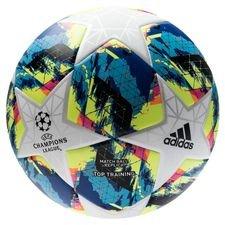 adidas Fotboll Champions League Finale Top Training - Vit/Turkos/Gul